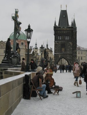 Blues trio - Charles Bridge