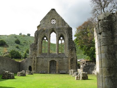Valle Crucis Abbey ruins