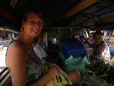 Leonie in de Sawng Thaew