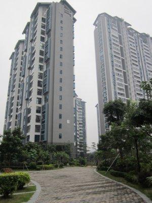 Our Zhuhai apartment complex.