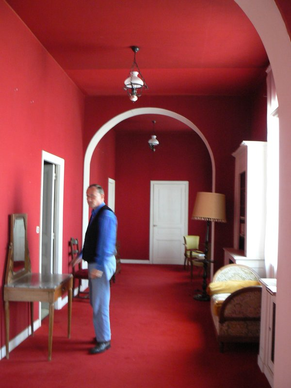 Antonio's 'chambre rouge'