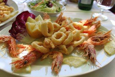 Fried Shrimp and Calamari