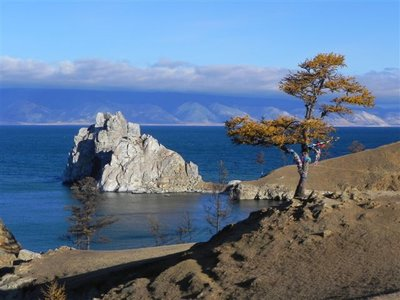 Olkhon Island Lake Baikal - Shaman Rock