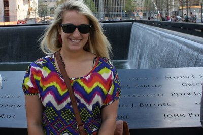 me with 9/11 memorial