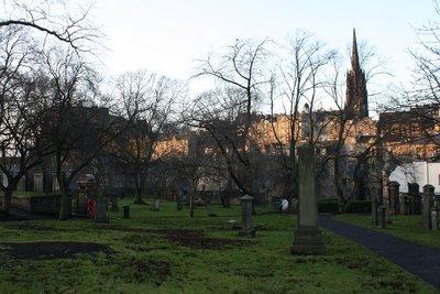 Edinburgh graveyard