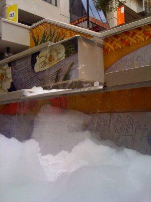 Fountain of Bubble Bath