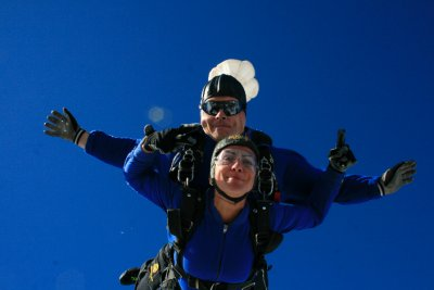 Sky Diving from 16,000 feet