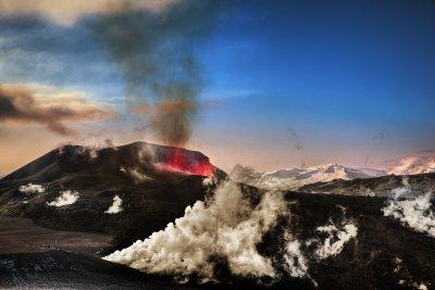 Smoke Landscape