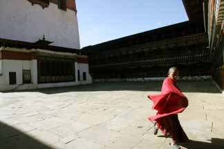 Bhutan&#39;s child buddhist priest