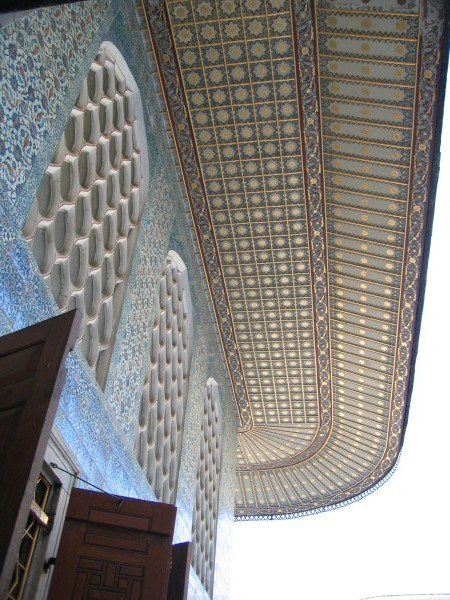The roof of the Harem