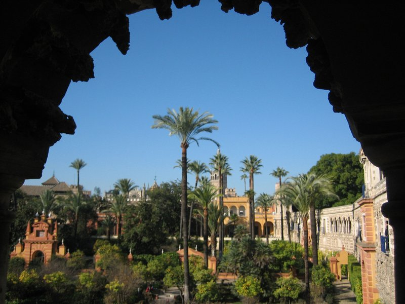 The Alcazar from a different angle