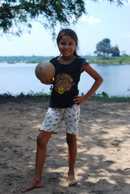 Football girl