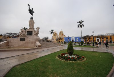 The main square, Trujillo