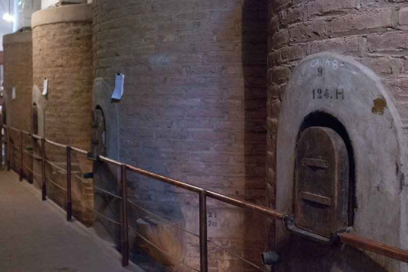 The historic vats