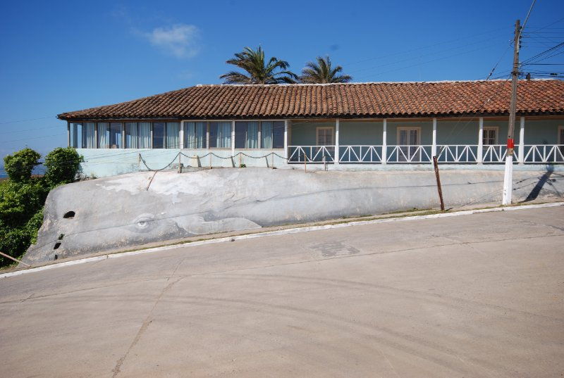 Whale building in Pichilemu