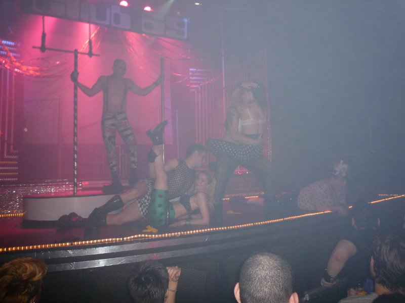 Crazy live show at club 69