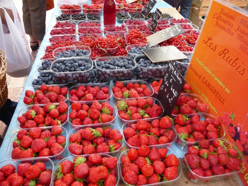 Carcassonne (126) - farmers market in Place Carnot