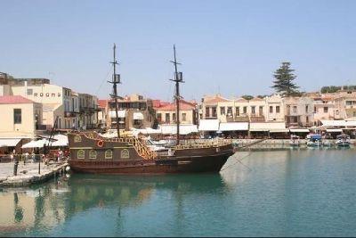 Rethymno, Venizian harbour - Prefecture of Rethymno