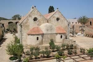 Crete, Monastry Arkadi - Prefecture of Rethymno