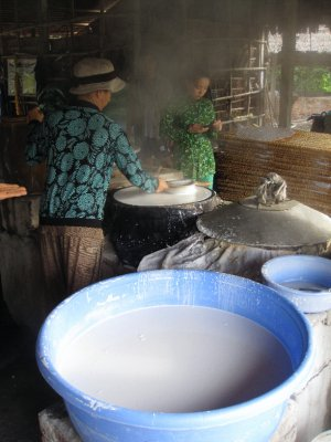 RIce Noodle Making