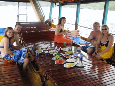 Snorkeling Group Lunch