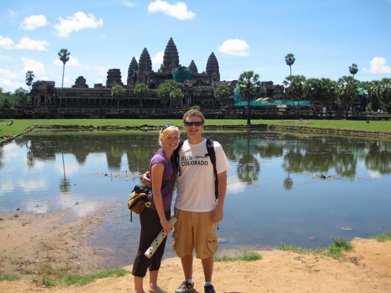 Us and Angkor Wat