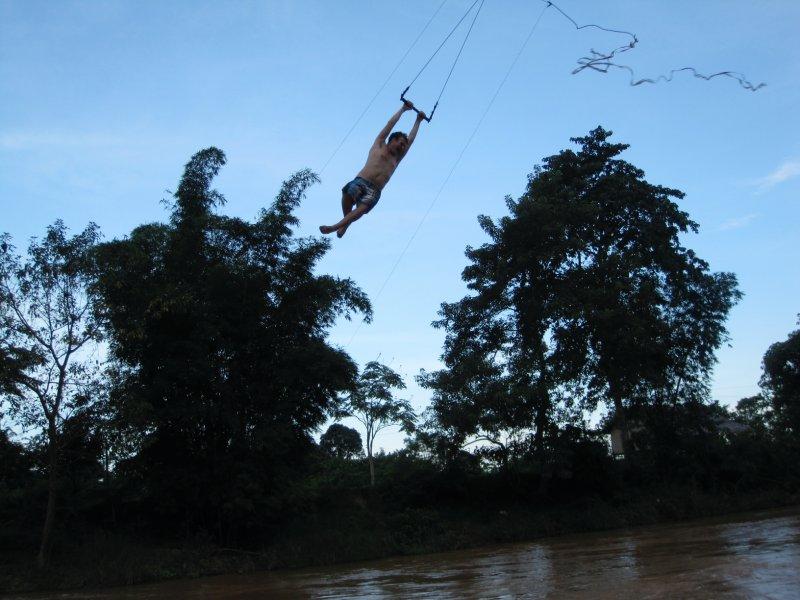 Galen on a swing