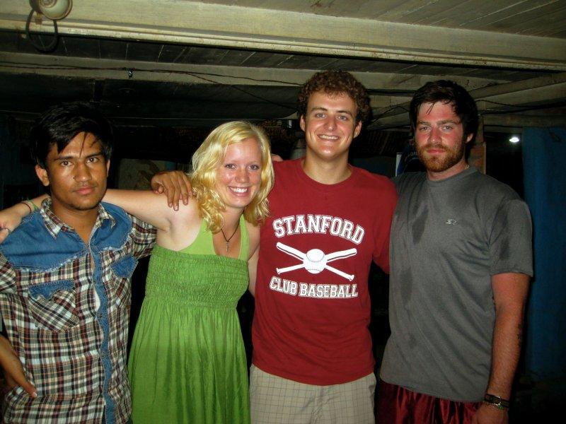 Bikram, Jim, and Us in The Hut