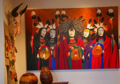 Painting , Santa Fe