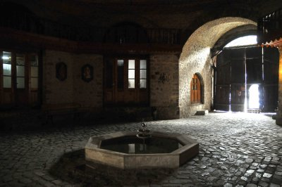 Karavansary, Sheki, Azerbaijan