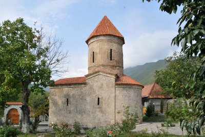 Caucasian Albanian Church,, Kish, nr Sheki,  Azerbaijan