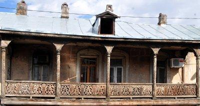 Tbilisi balcony