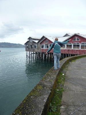 Palafitos en Castro, Chiloé