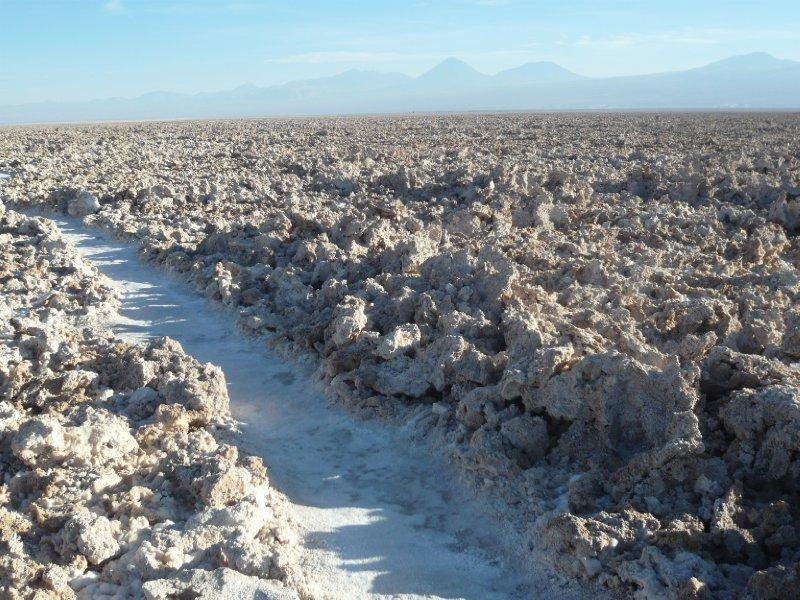 Salinas en la Atacama