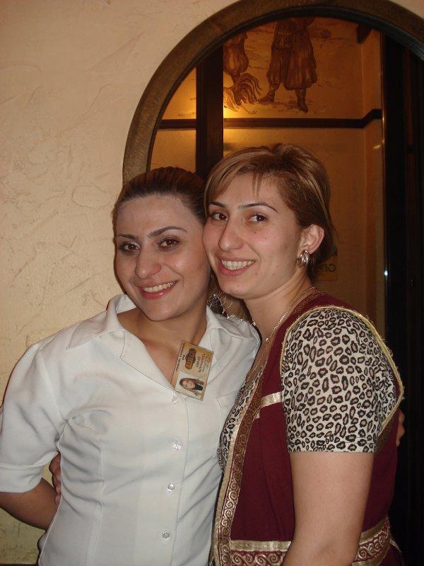 Our Caucasus waitresses