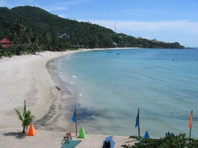 The beach at Had Yao, Koh Phangan