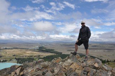 Mount John - on top of the world
