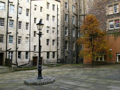 Courtyard in Edinburgh