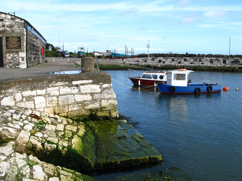 Harbor in Northern Ireland