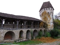 Sighisoara Citadel Wall