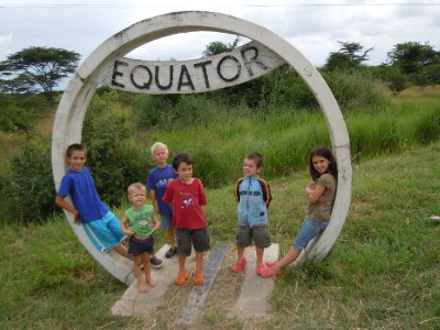 Chillin' at the equator