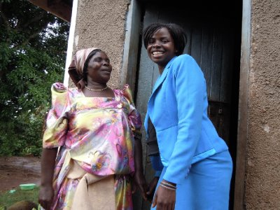 Resty and her mother, a resourceful lady whose bubbly laugh belies a life of hardship