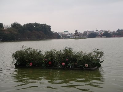 Hoan Kiem Lake sights, Hanoi