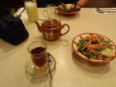 Lazat 05: Tabulah and Arabian tea