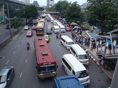 Chatuchak Markets traffic