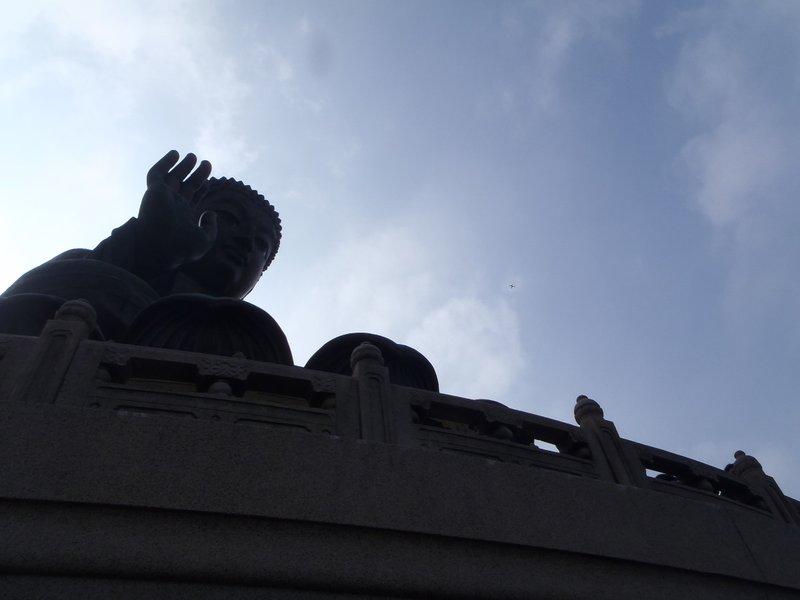 Buddha swats a fly