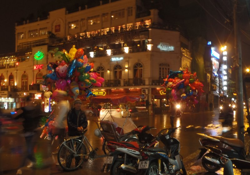 Hanoi Balloon Sellers