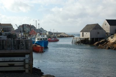 Peggy's Cove Fishing Village