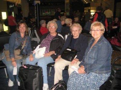 Elaine, Helen, Bessie & Peg