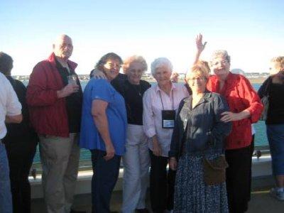 Chet, Georgia, Bessie, Jean, Peg & Mary Nell